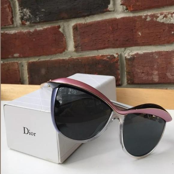 ae94d32622ea Christian Dior DEMOISELLE Cat Eye Sunglasses NWT